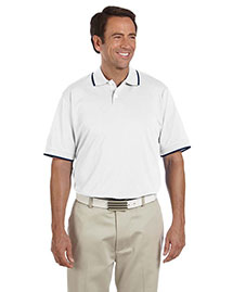 Adidas A88 Men's Climalite® Tour Jersey Short-Sleeve Polo at bigntallapparel