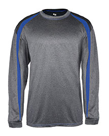 Badger B4350 Men Fusion Long Sleeve Athletic Tee