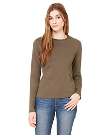 Bella B6500 Women Jersey Long-Sleeve T-Shirt