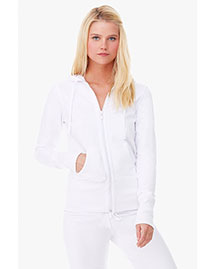 Bella B7207 Ladies' Stretch French Terry Lounge Jacket at bigntallapparel