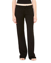 Bella B7217 Women Stretch French Terry Lounge Pant at bigntallapparel
