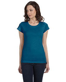 Bella B8101 Women Sheer Jersey Short-Sleeve T-Shirt
