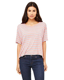 Bella B8881 Women Flowy Boxy T-Shirt