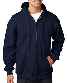 Bayside 900 Men Usa Made Full Zip Hood