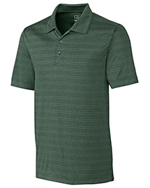 Cutter & Buck Bck09263 Men Interbay Melange Stripe Polo