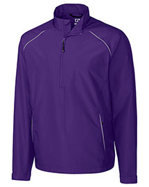 Cutter & Buck Bco00922 Men Cb Weathertec Beacon Half Zip Jacket