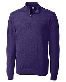 Cutter & Buck Bcs01433 Men Douglas Half Zip