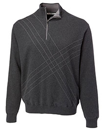 Cutter & Buck BCS01850 Men Peak Half Zip Wind Sweater
