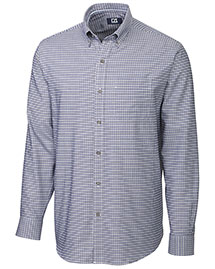 Cutter & Buck Bcw00092 Men Long Sleeve St John Plaid