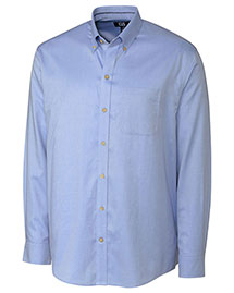 Cutter & Buck Bcw00100 Men Long Sleeve San Juan Wrinkle Free Solid