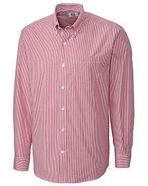 Cutter & Buck Bcw00115 Men Long Sleeve Epic Easy Care Mini Bengal