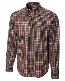Cutter & Buck Bcw01765 Men Long Sleeve Cypress Check