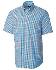 Cutter & Buck BCW01929 Men Figure Eight Check