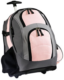 Port Authority BG76S Wheeled Backpack at bigntallapparel