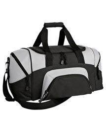 Port & Company BG990S Colorblock Small Sport Duffel at bigntallapparel