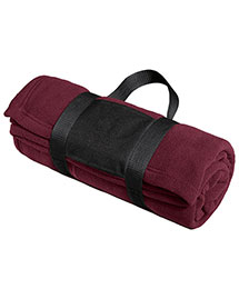 Port Authority BP20 Fleece Blanket With Carrying Strap at bigntallapparel