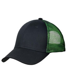 Port Authority C818  Double Mesh Snapback Sandwich Bill Cap