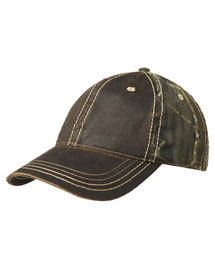 Port Authority C819  Pigmentdyed Camouflage Cap