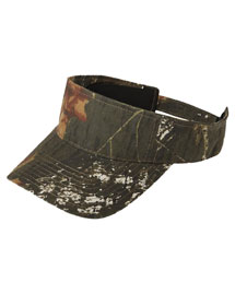 Port Authority C822 Camouflage Visor at bigntallapparel