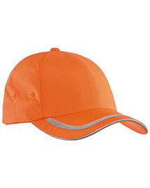 Port Authority C836 Mens Safety Cap at bigntallapparel