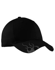 Port Authority C857  Racing Cap With Flames