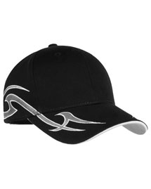 Port Authority C878  Signature - Racing Cap With Sickle Flames