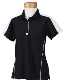 Chestnut Hill CH355W Women Piped Technical Performance Polo