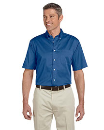 Chestnut Hill CH505 Mens 32 Singles Short Sleeve Twill at bigntallapparel