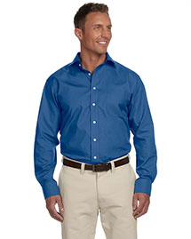 Chestnut Hill Ch600c Men Executive Performance Broadcloth With Spread Collar