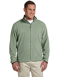 Chestnut Hill CH900 Men Microfleece Full Zip Jacket at bigntallapparel