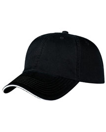 Port & Company CP79  Washed Twill Sandwich Cap