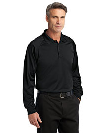 Cornerstone Cs410ls Men Select Long Sleeve Snag-Proof Tactical Polo