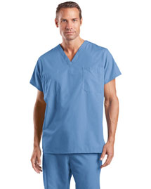 Cornerstone Cs501 Men Reversible V Neck Scrub Top