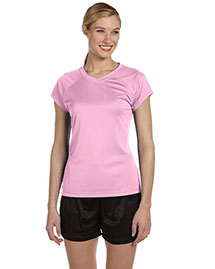 Champion Cw23 Women 4 Oz. Double Dry Performance T-Shirt
