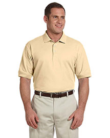 Devon & Jones D100 Mens Pima Pique Short Sleeve Polo at bigntallapparel