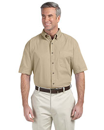Devon & Jones D500S Men Short Sleeve Titan Twill at bigntallapparel