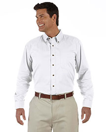 Devon & Jones D500 Men Long Sleeve Titan Twill at bigntallapparel