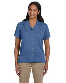 Devon & Jones D670W Ladies' Isla Camp Shirt at bigntallapparel