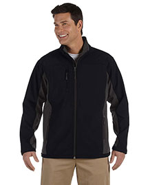 Devon & Jones D997 Men Soft Shell Colorblock Jacket