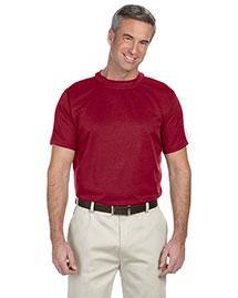 Devon & Jones DG370 Mens Dri Fast Advantage Mesh Mock at bigntallapparel