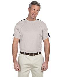 Devon & Jones DG370 Men Dri Fast Advantage Mesh Mock at bigntallapparel