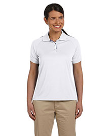 Devon & Jones DG375W Ladies' Dri-Fast™ Advantage™ Colorblock Mesh Polo at bigntallapparel