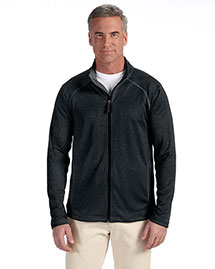Devon & Jones DG420 Men Stretch Tech-Shell Compass Full-Zip