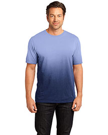 District Threads Dm3310 Men    Dip Dye Crew Tee
