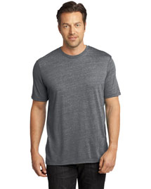 District Threads Dm370 Men   Textured Crew Tee