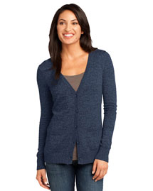 District Threads DM415 District Made? Ladies Cardigan Sweater at bigntallapparel