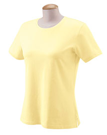 Devon & Jones DP155W Ladies' Stretch Jersey T-Shirt at bigntallapparel