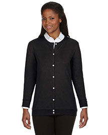 Devon & Jones DP181W Women Perfect Fit Ribbon Cardigan