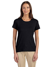 Devon & Jones Dp182w Women Perfect Fit Shell T-Shirt