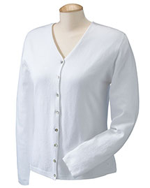 Devon & Jones Dp450w Women Stretch Everyday Cardigan Sweater
